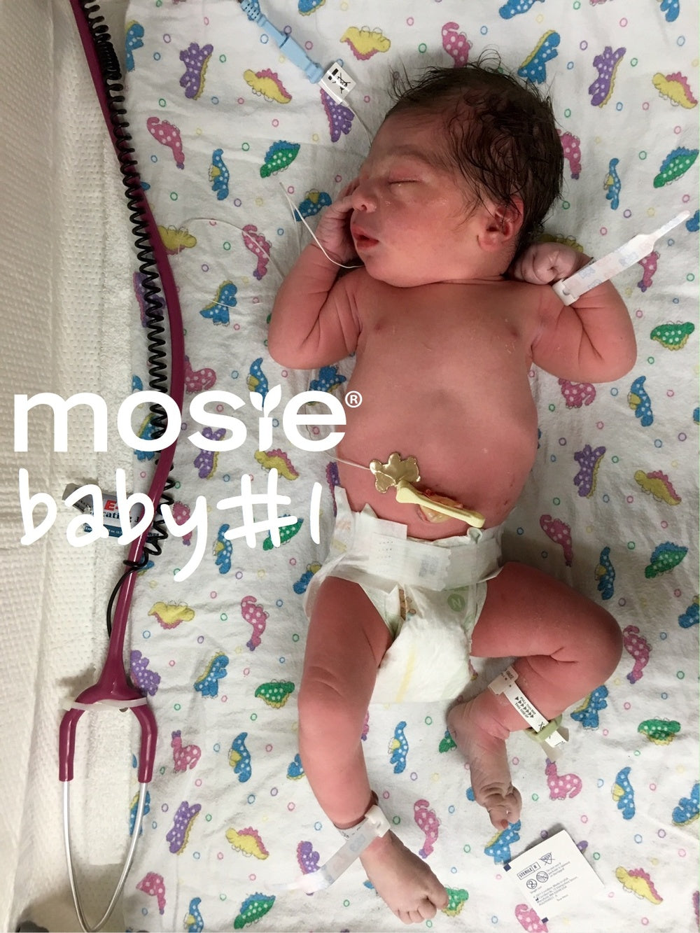 newborn mosie baby, Son of the creators of Mosie
