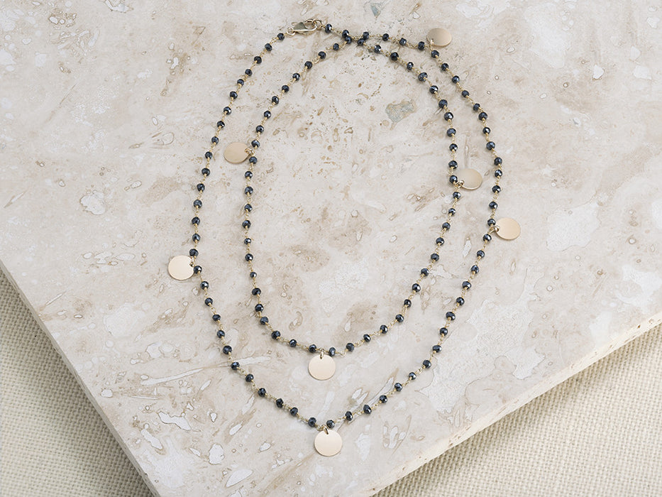 Coquina Long Necklace