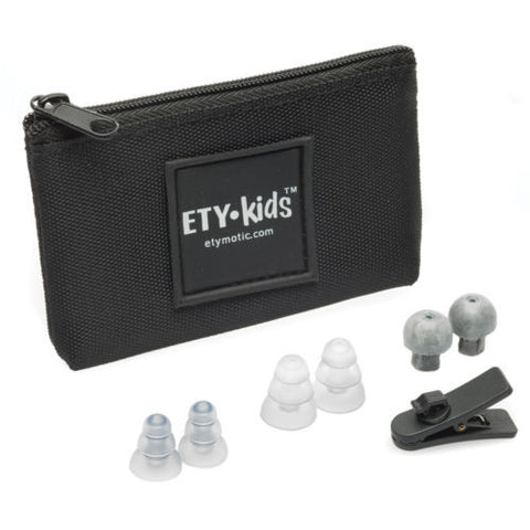 Etymotic Ety Kids 3 Safe Listening Volume Limited Earphones Mic & Remote