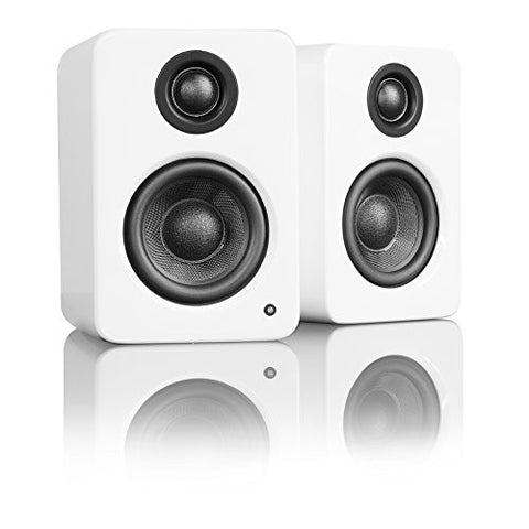 Kanto YU2 Powered Desktop / Bookshelf Speakers - Matte White