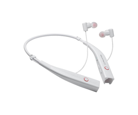 Phiaton BT 100 NC Bluetooth Noise Canceling Earphones - White