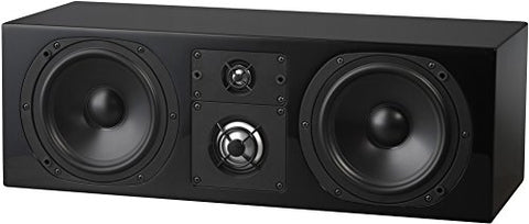 NHT C Series C-LCR 3-Way Center Channel Speaker - High Gloss Black