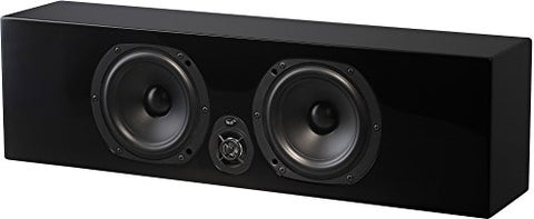 NHT Media Series Slim Center Channel Speaker - High Gloss Black