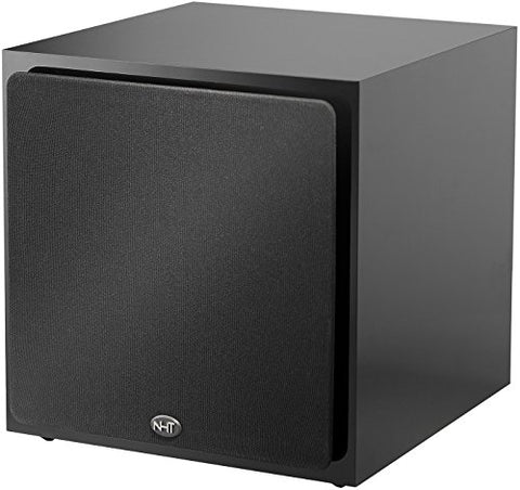 NHT SS-10 10-inch Long Throw Powered Subwoofer, 250 Watts - High Gloss Black ...