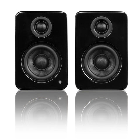Kanto YU2 Powered Desktop / Bookshelf Speakers - Gloss Black