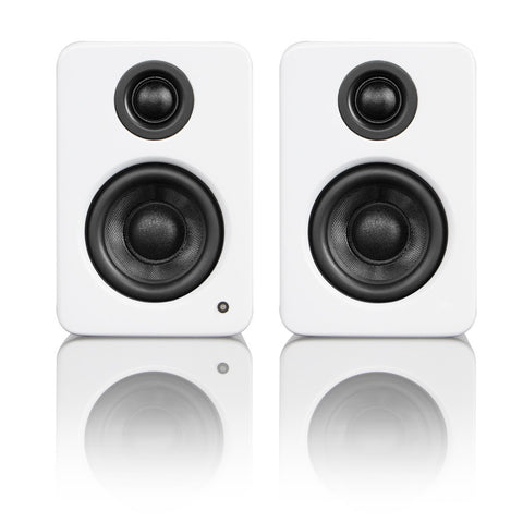 Kanto YU2 Powered Desktop / Bookshelf Speakers - Gloss White