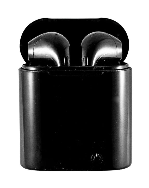 i7s Mini TWS Twins True Wireless Earbuds - Black