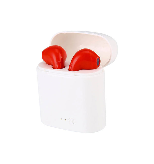 i7s TWS Airpods Clones - Red