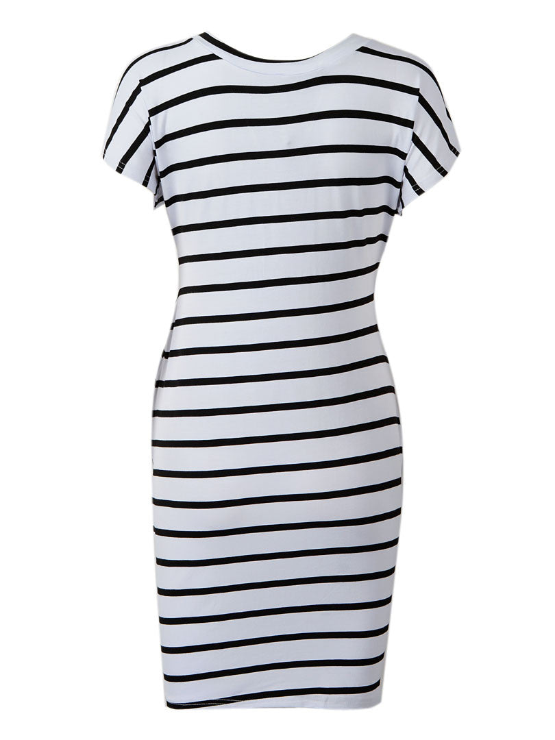 Valerie's Stripe Twist dress