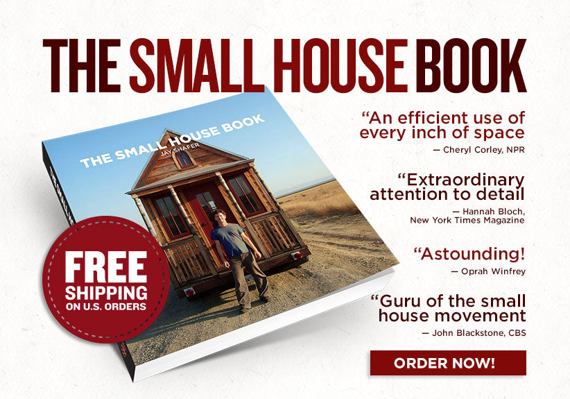 The Small House Book paperback Four Lights Tiny House Company