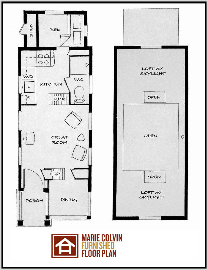 Four lights tiny house plans 28 images cottage style for Four lights tiny house plans