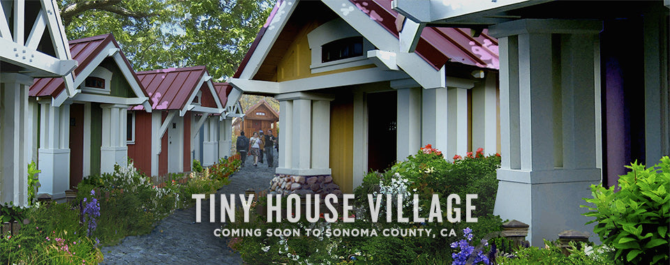 Tiny House Village Sonoma County Four Lights Tiny House Company