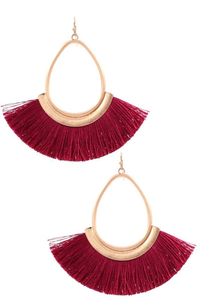 Delilah Fringe Earrings