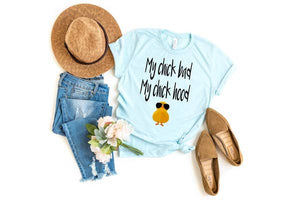 My Chick Bad My Chick Hood tshirt