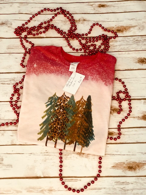 Bleach Christmas Tree tee