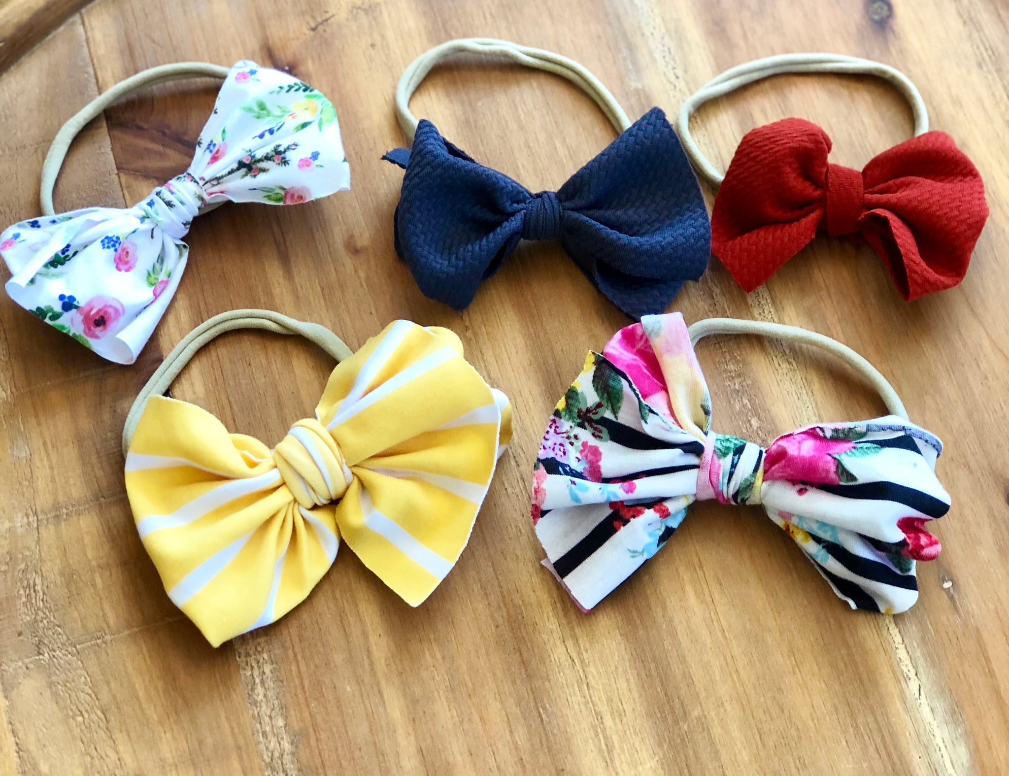 Mini Wrap Around Bows