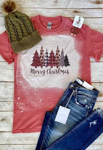 Bleached Merry Christmas Tee