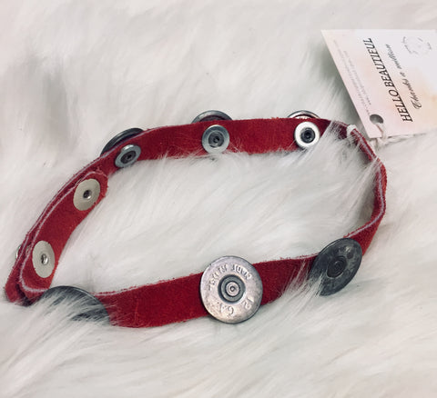 Red Shotgun Choker