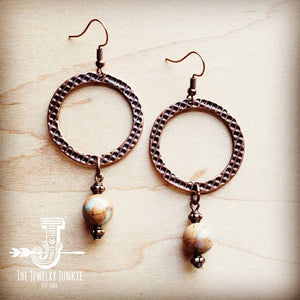 Aqua Terra Drop Earrings