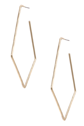 City Brass Earrings