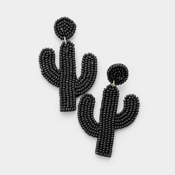 Black Beaded Cactus