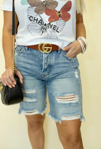 Bobbi Boyfriend Shorts