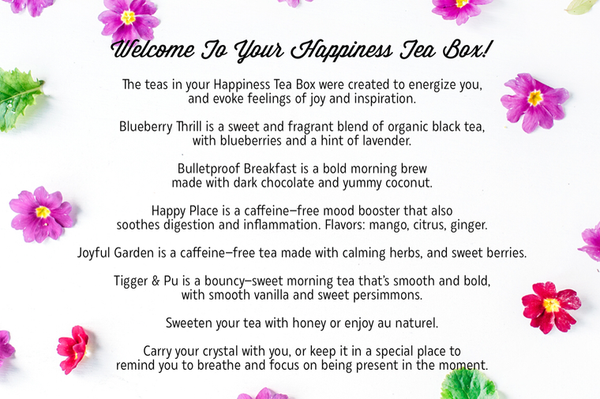Happiness Tea Box