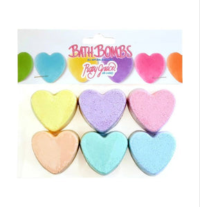 Bath Bomb Hearts Gift Set
