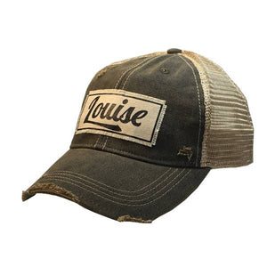 Louise Distressed Hat