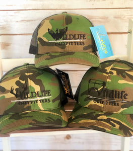 Old School Camo Wildlife Hats