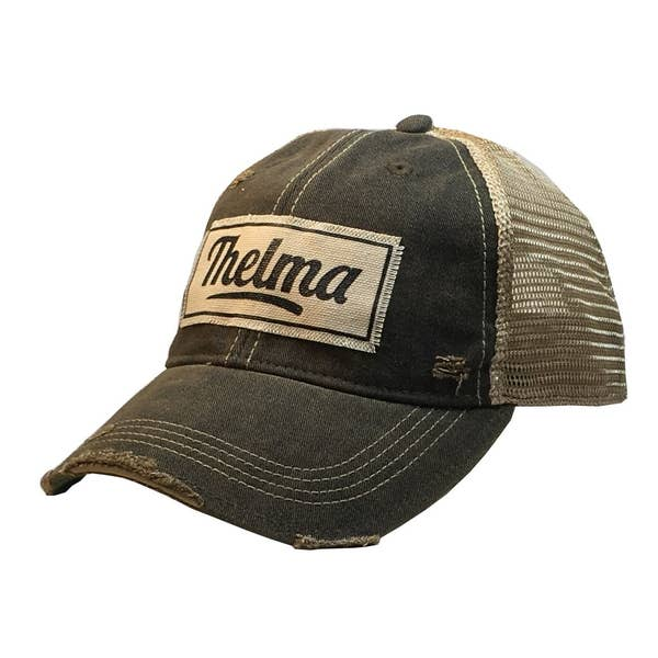 Thelma Distressed Hat