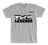 "GTR R35 and Supra T-Shirts ""LEGENDS"""