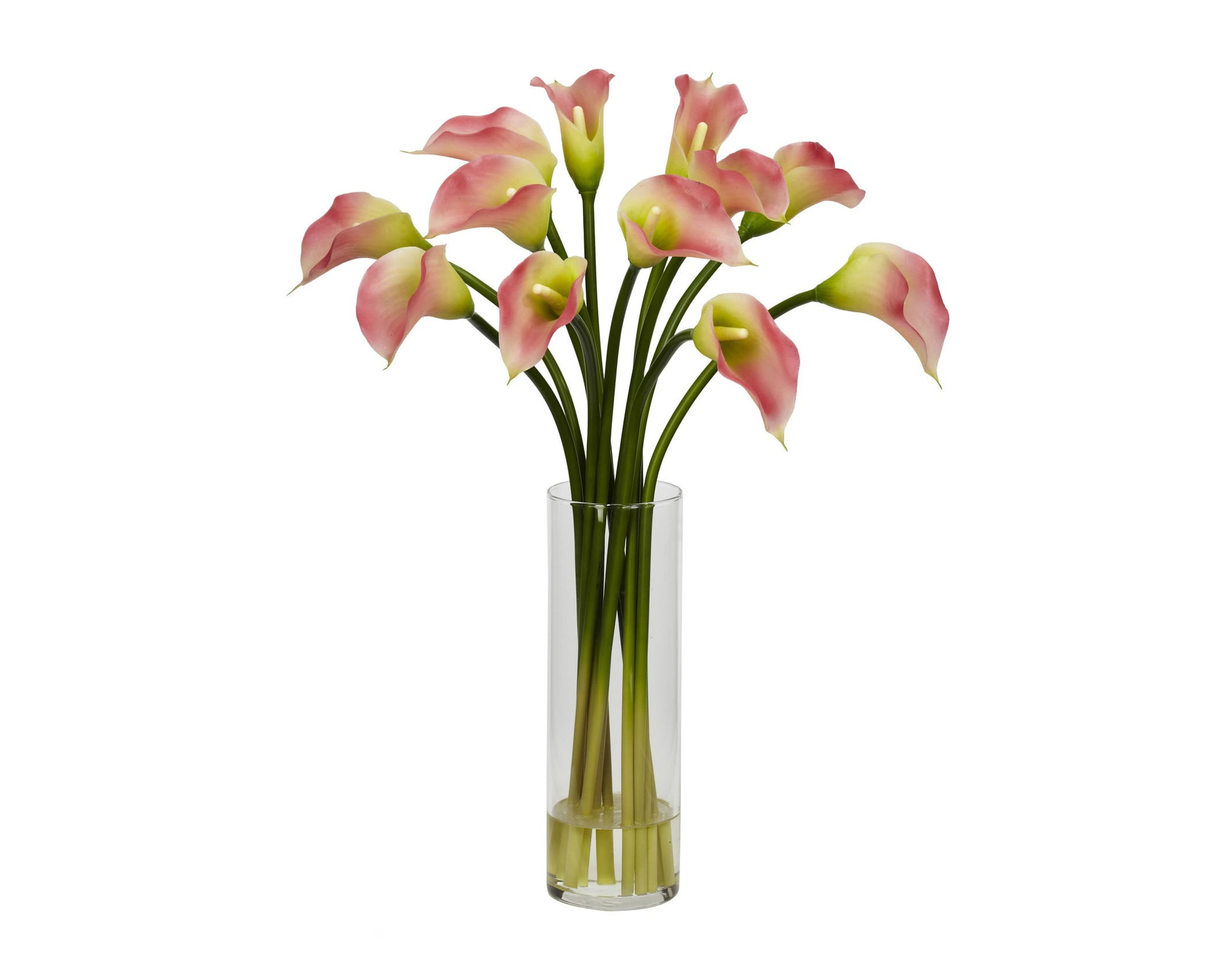 Calla Lilies Pink Flowers