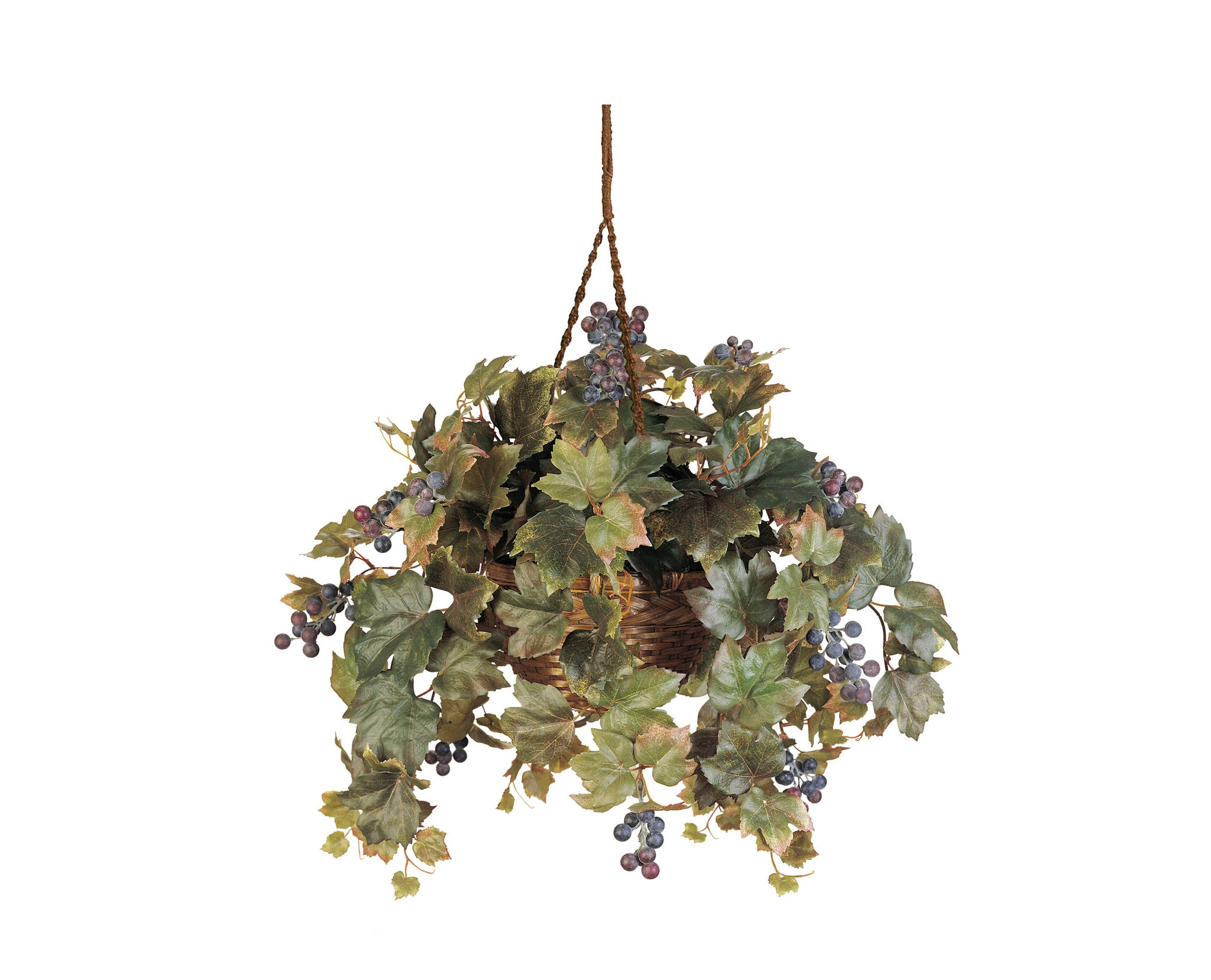 Grape Leaf Hanging Baskets
