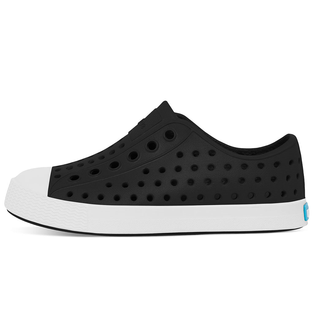 Native Jefferson Kids - Jiffy Black/ Shell White - limited sizes left