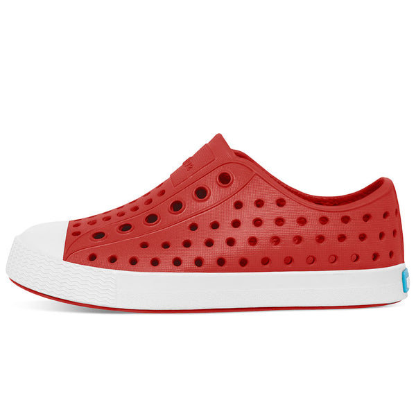 Native Jefferson Kids - Torch Red/ Shell White - limited sizes left
