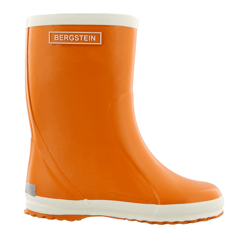 Bergstein rain boots in new orange