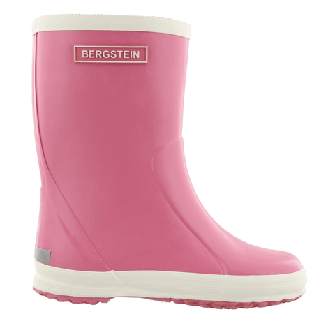 Bergstein rain boot in soft pink