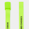 Bobo Choses fluro lime belt