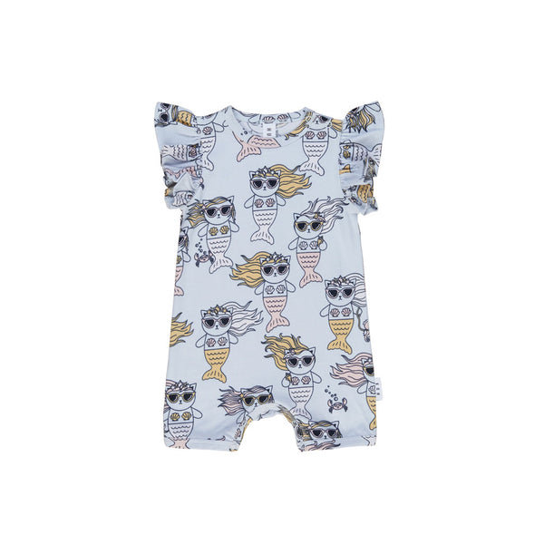 Huxbaby Meow Maid Short Frill Romper