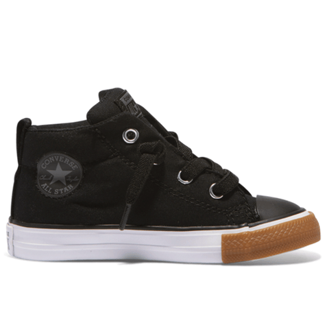 Chuck Taylor All Star NO GUM Mid in black