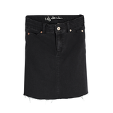 I dig denim Bree denim skirt in black