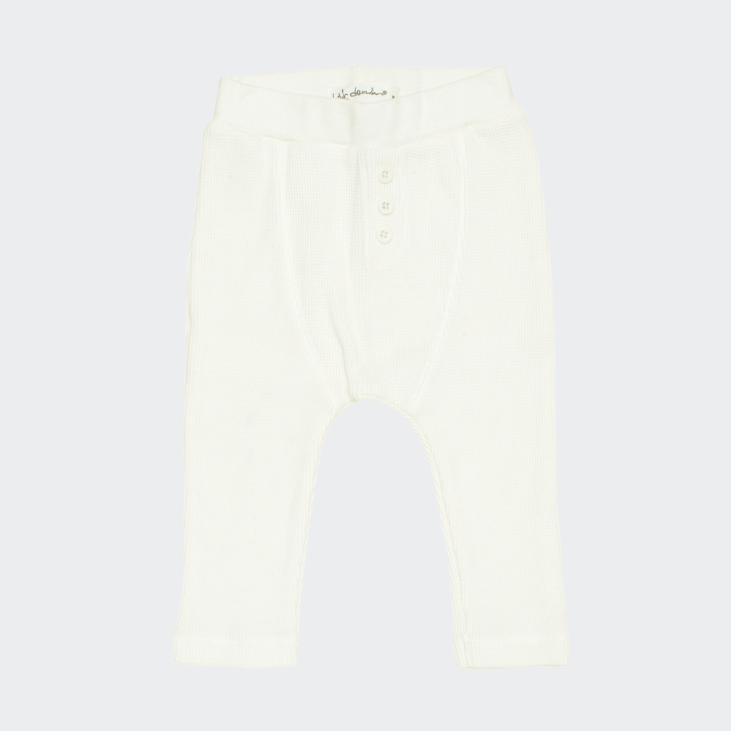Ly baby pants in white