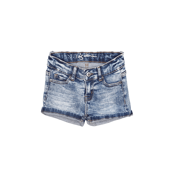 I dig denim Savannah shorts in blue