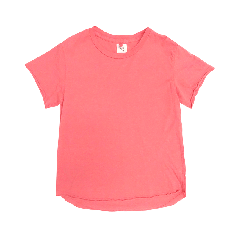 Nico Nico Milos Tee in neon pink - limited sizes left
