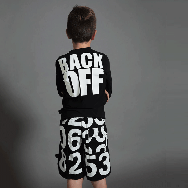 "Nununu ""back off"" rashguard - limited sizes left"