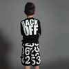 "Nununu ""back off"" rashguard"