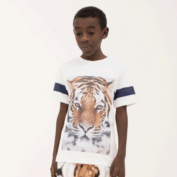 Popupshop short sleeve tiger tee - limited sizes left