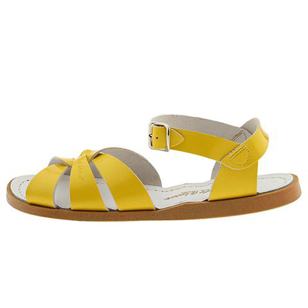 Salt Water Sandal Yellow Limited Sizes Left Hipkin
