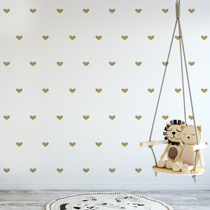 Mini Heart Decals